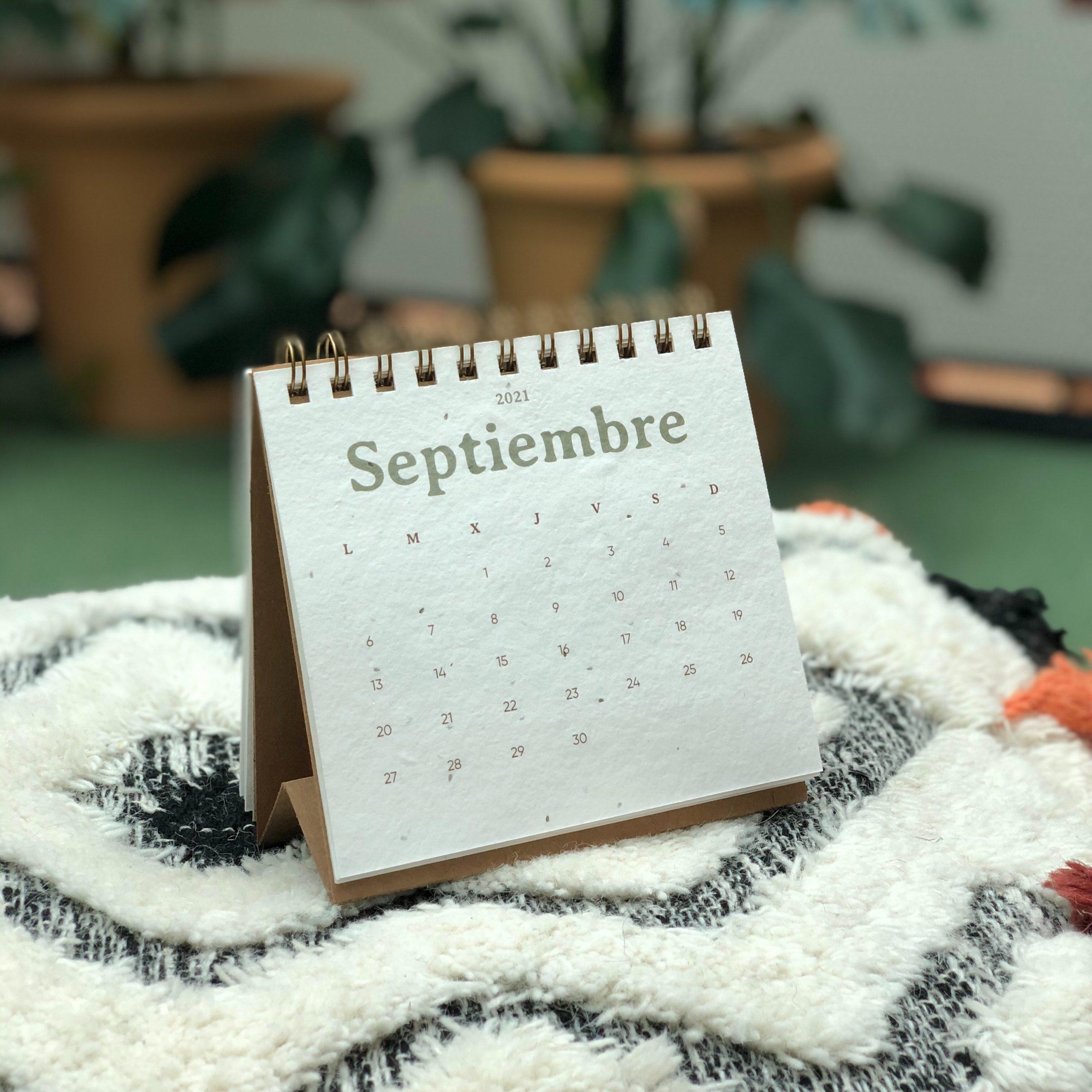 calendario plantable