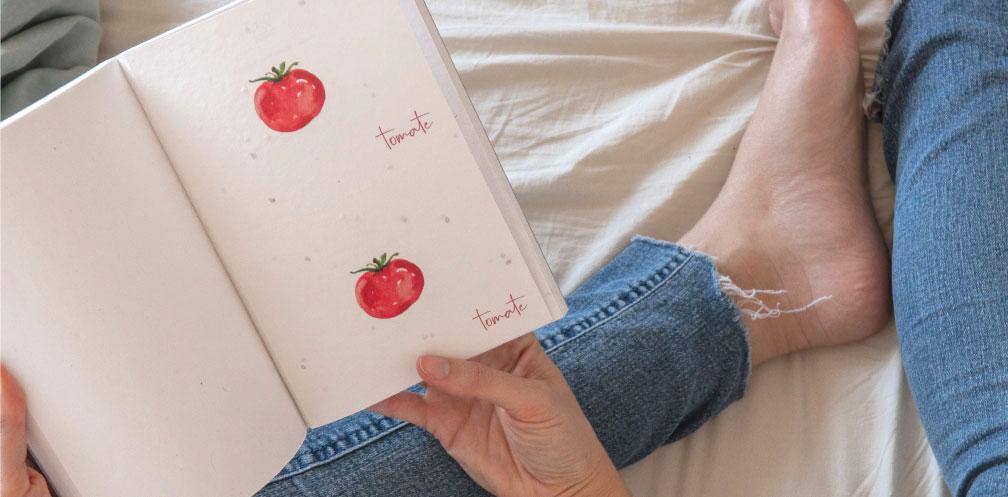 cuaderno sostenible plantable