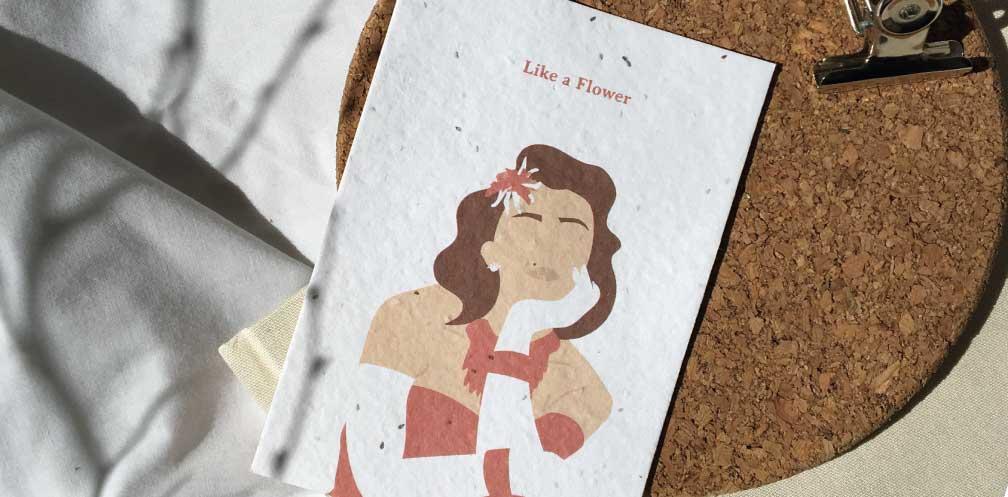 tarjeta dia de la mujer
